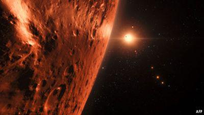 Astronomers discover a star with seven Earth-sized planets