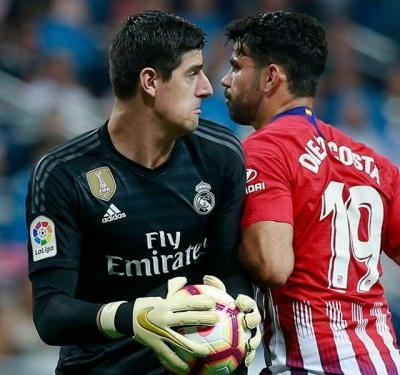 Real Madrid 0 Atletico Madrid 0: Lopetegui's men drop points again as Courtois stars