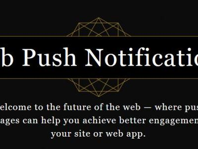 Get started with web push notifications