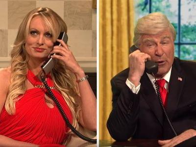 How the president and his defenders' explanations of the Stormy Daniels scandal have evolved over time