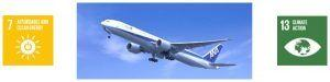 ANA Adopts Sustainable Aviation Fuel
