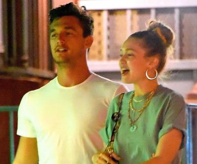 Gigi Hadid and Tyler Cameron spotted on road trip in upstate New York