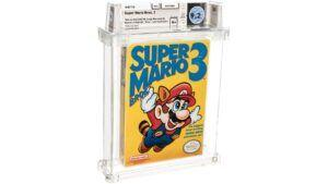Rare, sealed copy of 'Super Mario Bros. 3' sets record for most expensive game