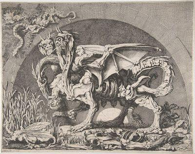 Louis Jean Desprez, The Chimera