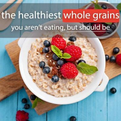The Healthiest Whole Grains You Aren't Eating, But Should Be