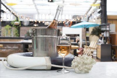 Drink Rosé on the Roof