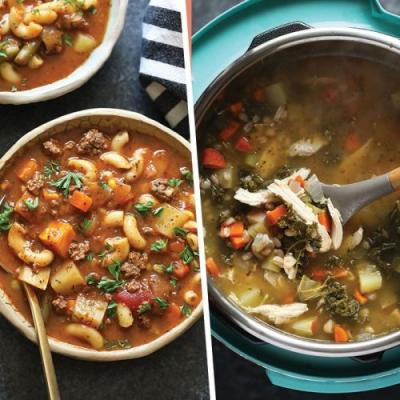 20 Healthy Soup Recipes