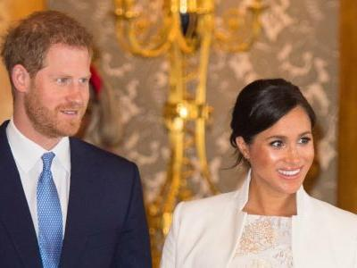 Meghan Markle Wore a Thing: Brocade Maternity Dress Edition