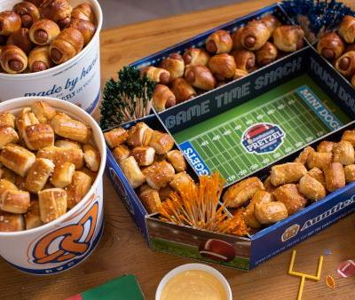 Auntie Anne's Game Day Pretzel Pack For The 2019 Super Bowl Is The Perfect Snack
