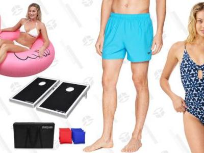 Amazon Has Everything You Need For a Pool Party On Sale Today