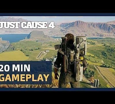 TGS 2018: Watch 20 Minutes Of Just Cause 4 Open World Gameplay