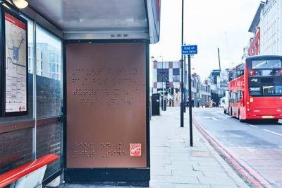 Mars have created a 'chocolate' braille billboard advert for Maltesers as part of their ongoing commitment to diversity