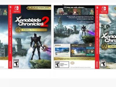 My Nintendo offers Xenoblade Chronicles 2 alternate Switch case cover art