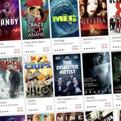 Google Play's End of the Year Sale drops dozens of film rentals to $1 each