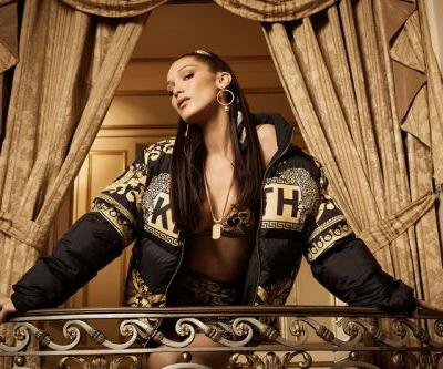 Bella Hadid Dazzles in KITH PARK x Versace Collaboration Campaign