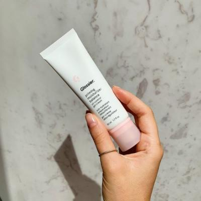 I Tried Glossier's New Priming Moisturizer, and It's 100% Add-to-Cart Worthy