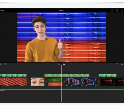 IMovie's big iOS update adds 80 new soundtracks, green screen effects, image overlays