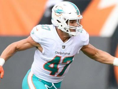 Dolphins' Kiko Alonso ejected after hit on Bills' Josh Allen leads to scuffle
