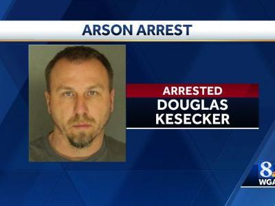 York man arrested for arson,police say