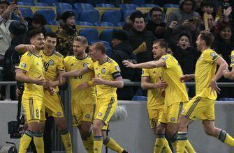 Kazakhstan beats Scotland 3-0 as European qualifying starts