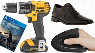 Today's Best Deals: DEWALT Drill, Vertical Mouse, Clear the Rack Sale, and More