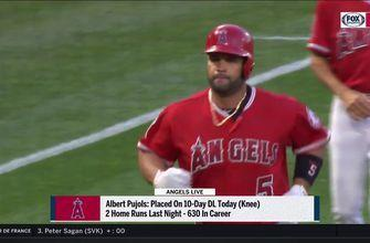 Albert Pujols powered through weeks of pain before DL stint