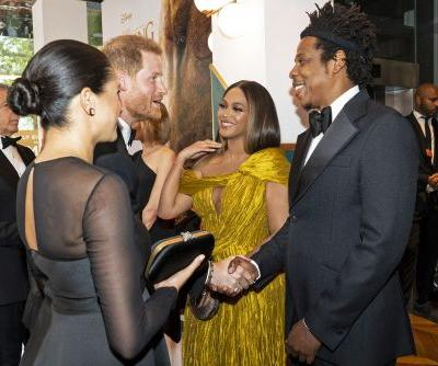 Beyoncé, Meghan Markle gush over baby Archie at 'Lion King' premiere