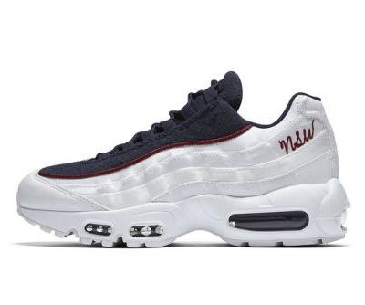 Nike Adds NSW Script Logo to the Air Max 95