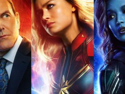 Captain Marvel Posters Offer Best Look Yet At Young Coulson, Minn-Erva