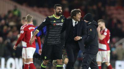 'Mendes respects us' - Conte sure agent friendship will keep Costa at Chelsea
