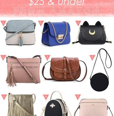 9 Cute Small Crossbody Bags from Amazon $25 and Under