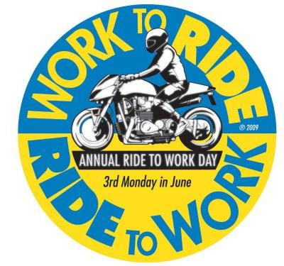 June 17th Is Ride To Work Day