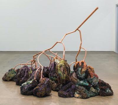 Precious Gems Form the Unsightly Rot of Artist Kathleen Ryan's Decomposing Fruit