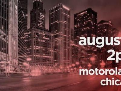 Motorola teases 'big announcement' at August 2nd event