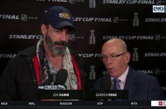 Jon Hamm on Blues going into Game 4: 'It's not like they haven't been here before'