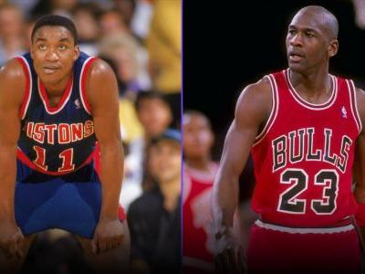 Audio captures Michael Jordan saying he wouldn't play if Isiah Thomas was on the Dream Team