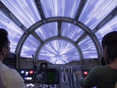 Star Wars: First Footage of Smugglers Run & Rise of the Resistance Rides at Disney Theme Park