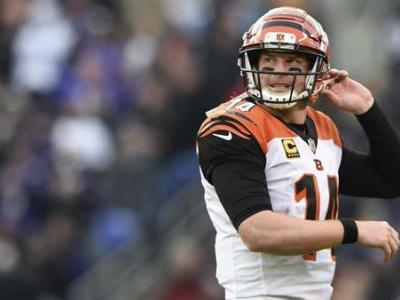 Bengals QB Andy Dalton out for season with thumb injury