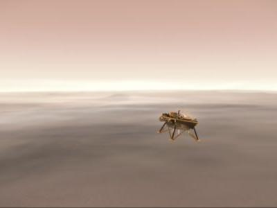 Watch NASA Land the InSight Probe on Mars Live Right Here