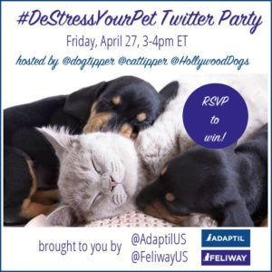 RSVP for the DeStressYourPet Twitter Party!