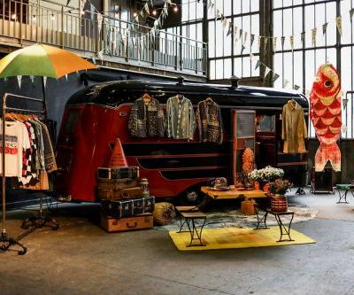 A Look Inside visvim's Indigo Camping Trading Post Exhibition at Paris Fashion Week