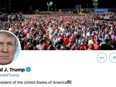 Trump's Twitter 'hacked' by hacker who guessed password was 'maga2020!'