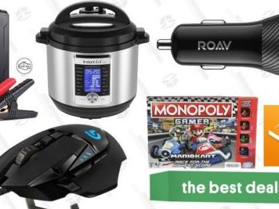 Monday's Best Deals: Instant Pot Ultra, Free Audible Books, the Best Gaming Mouse, and More