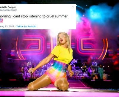 "These Tweets About Taylor Swift's ""Cruel Summer"" Prove It's A Jam"