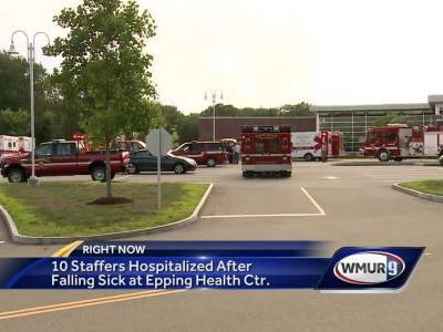 Officials: Air freshener likely sickened 10 at Epping medical center