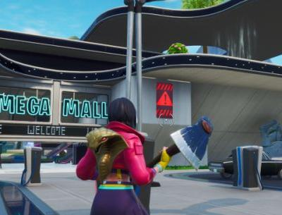 Fortnite: Visit different public service announcements signs in Neo Tilted, Pressure Plant or Mega Mall