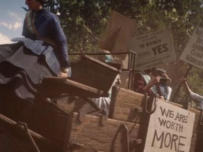 Killing a suffragette in Red Dead Redemption 2 says more about you than Rockstar