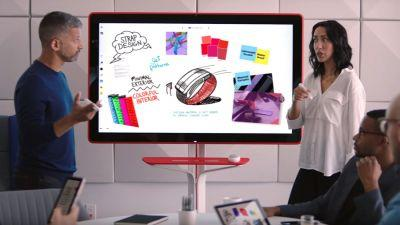 Here's how much Google's giant digital whiteboard costs