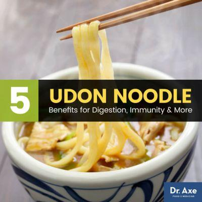 Udon Noodles Benefit Digestion, Immunity, Stress Management & More