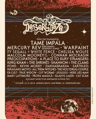 Desert Daze reveals 2018 lineup: Tame Impala, Mercury Rev, and Ty Segall among highlights